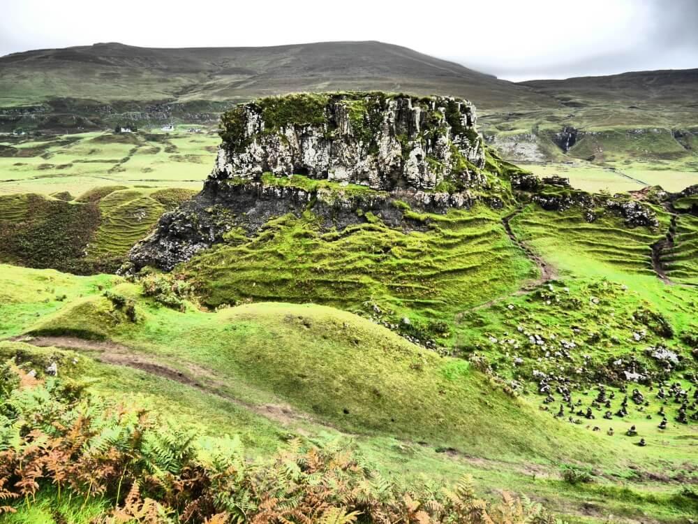 Castle Ewen von der Seite