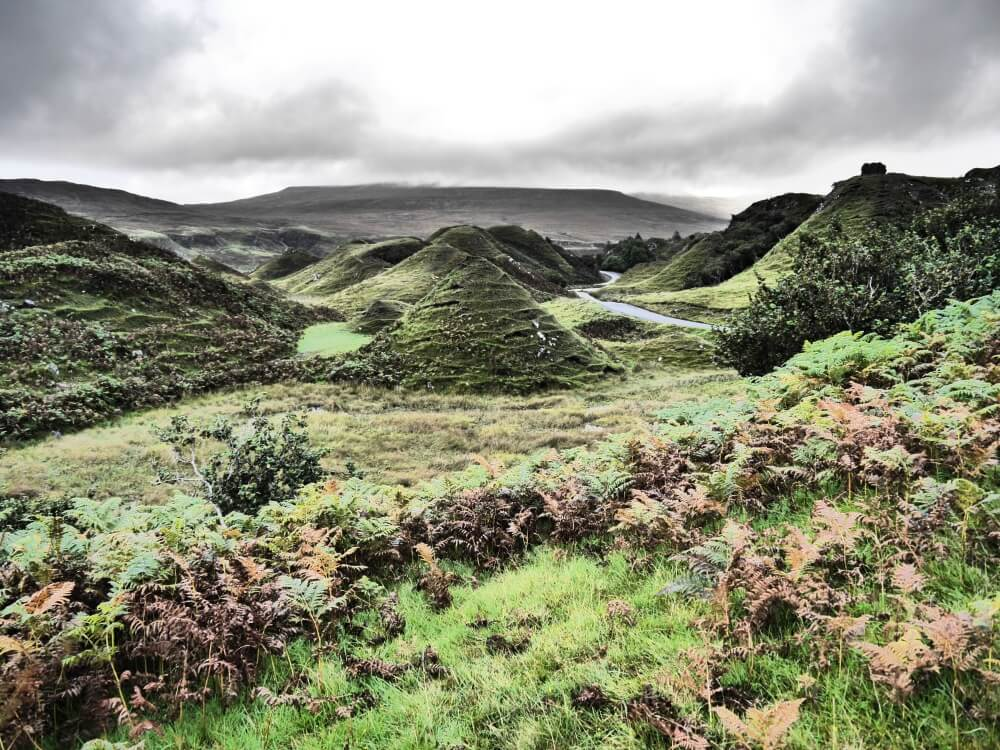 Natur des Fairy Glen